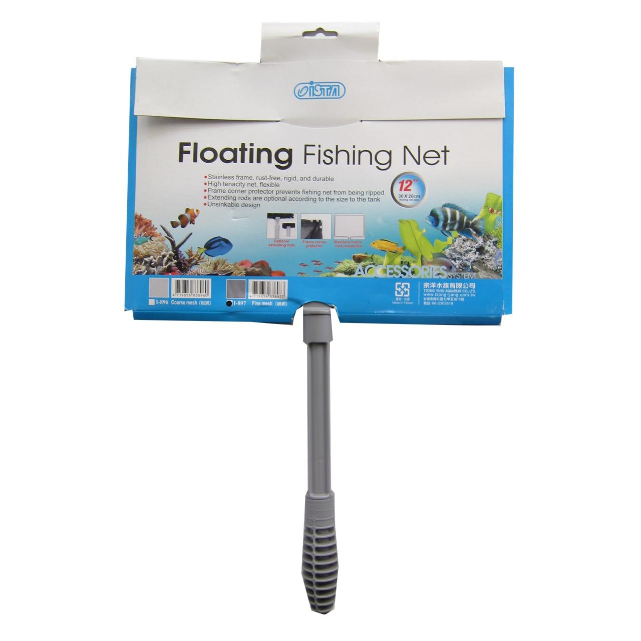 تور ماهی آکواریوم ایستا مدل Floating Fishing Net سایز ۱۲ اینچ