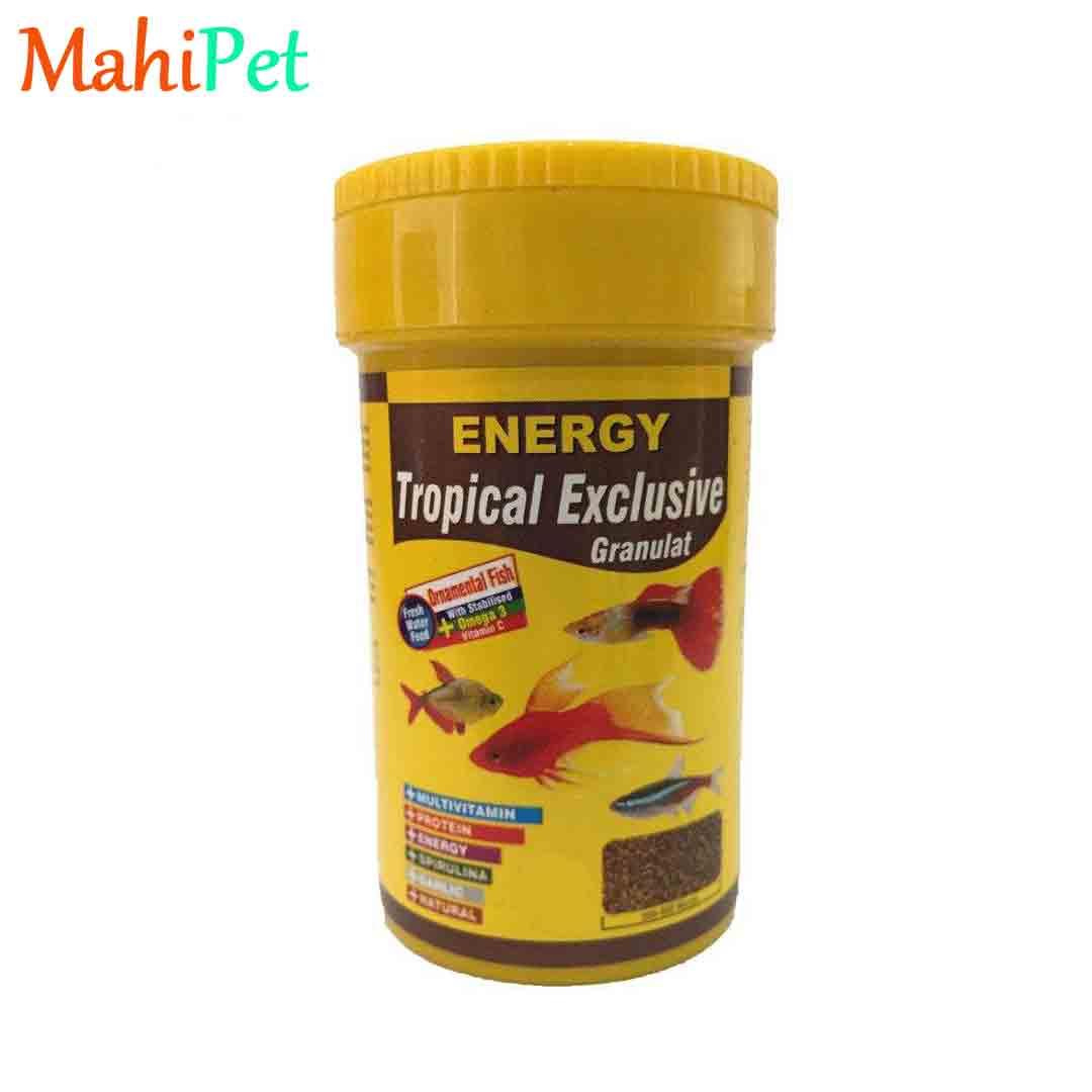غذا ماهی انرژی مدل Tropical Exclusive Granulat میلی لیتر 250