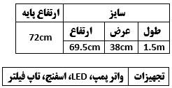 مشخصات K1500 sobo با پایه