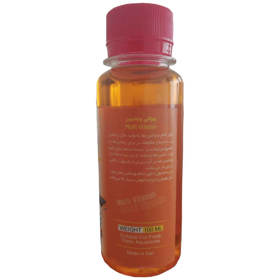محلول مولتی ویتامین جوبو 100 میلی لیترآکواریوم