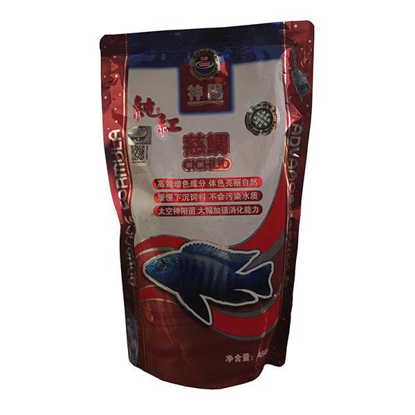 غذای ماهی هیکاری مدل CICHILID وزن 450 گرم