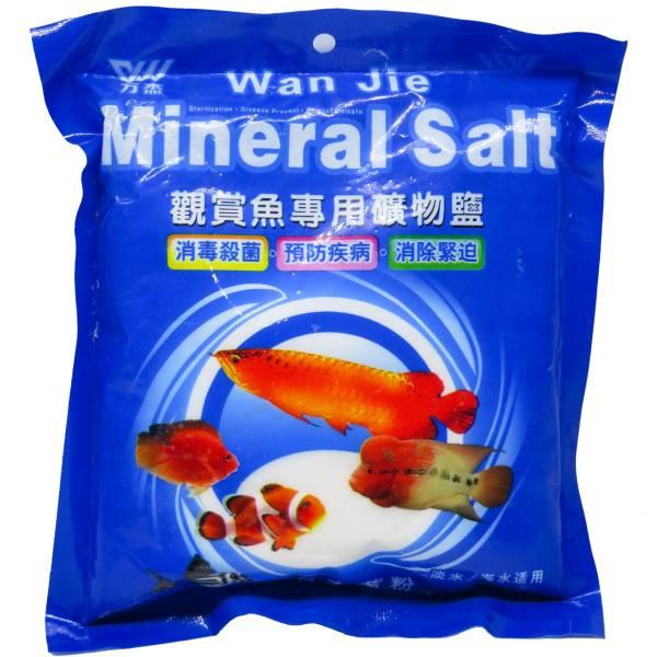 نمک معدنی ضد استرس آکواریوم وان جی حجم 500 گرم
