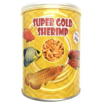 غذای ماهی آکوا مدل Super Gold Shrimp وزن 33 گرم