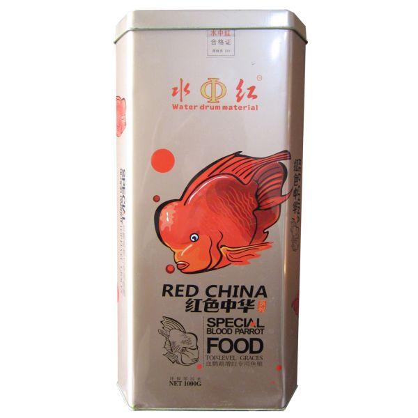غذای ماهی رد چاینا مدل Blood Parrot Foodمقدار 1000 گرم