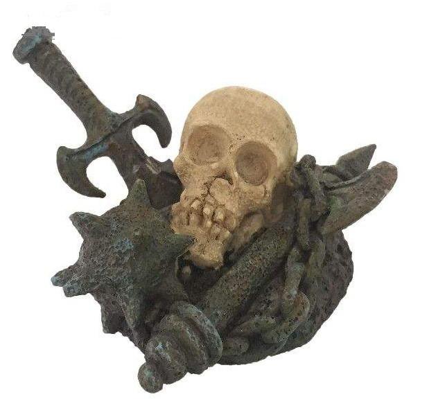 اسکلت تزئینی آکواریوم مدل died head
