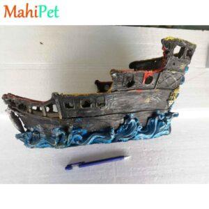 دکوری کشتی آکواریوم کد Ship1-1