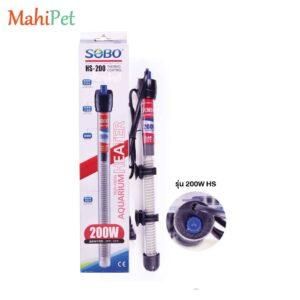 بخاری شیشهای آکواریوم سوبو HS-200 200W