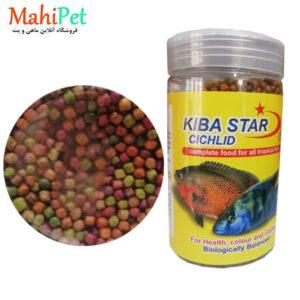 غذای ماهی کیبا استار مدل Cichlid وزن 350 گرم