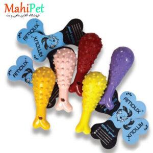 اسباب بازی سگ طرح ران مرغ خار دار TOY-3