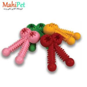 اسباب بازی سگ طرح ستاره جنس RUBBER کد TOY-11