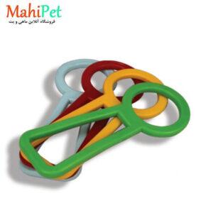 اسباب بازی سگ طرح قفل مدل TOY1
