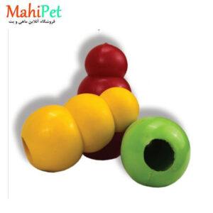 اسباب بازی سگ طرح کندوی عسل سایز بزرگ جنس RUBBER کد TOY-19