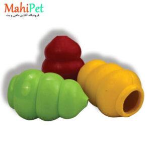 اسباب بازی سگ طرح کندوی عسل سایز متوسط جنس RUBBER کد TOY-20