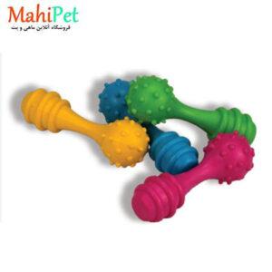 اسباب بازی سگ طرح گرز خار دار جنس RUBBER کد TOY-16