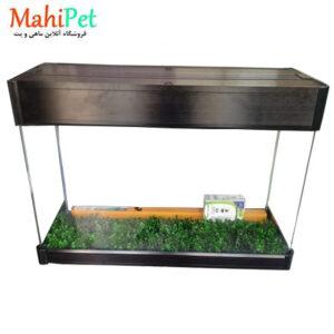 آکواریوم آلمینیومی 55×40×120 شیشه 10میل